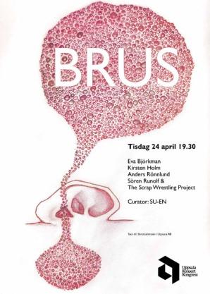 Affisch: teckning och grafisk formgivning Eva Björkman